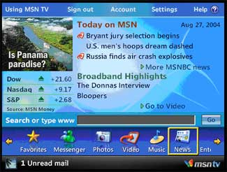 MSN TV 2 Internet & Media Player