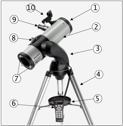 Amazon Com Celestron Nexstar 114gt 114mm Go To Reflector