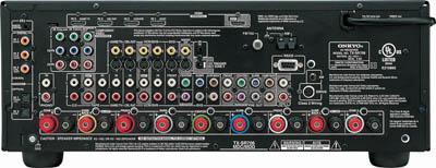 Onkyo tx-sr706 thx certified seven channel a/v receiver.