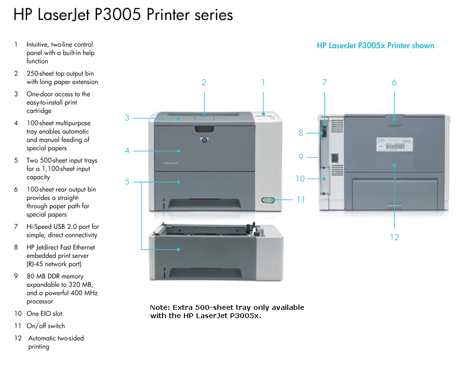 hp laserjet p3005n drivers free download