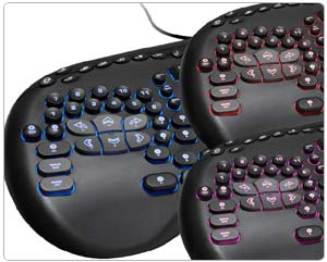 SteelSeries Merc Stealth Keyboard