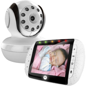 motorola mbp36 remote wireless video baby monitor withcolor lcd screen baby. Black Bedroom Furniture Sets. Home Design Ideas