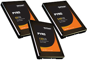 Patriot Pyro 240GB SATA III 2.5 SSD Drivers for Windows XP