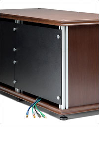 Removable Rear Panels Are Easily Removable With Four Thumbnuts, Providing  Component Access And Enclose The Rear Of Each Cabinet. Each Panel Is Cut,  ...