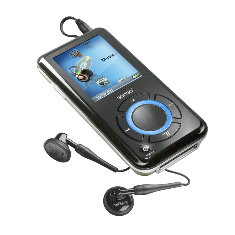 Amazon SanDisk Sansa E250 2 GB MP3 Player With MicroSD