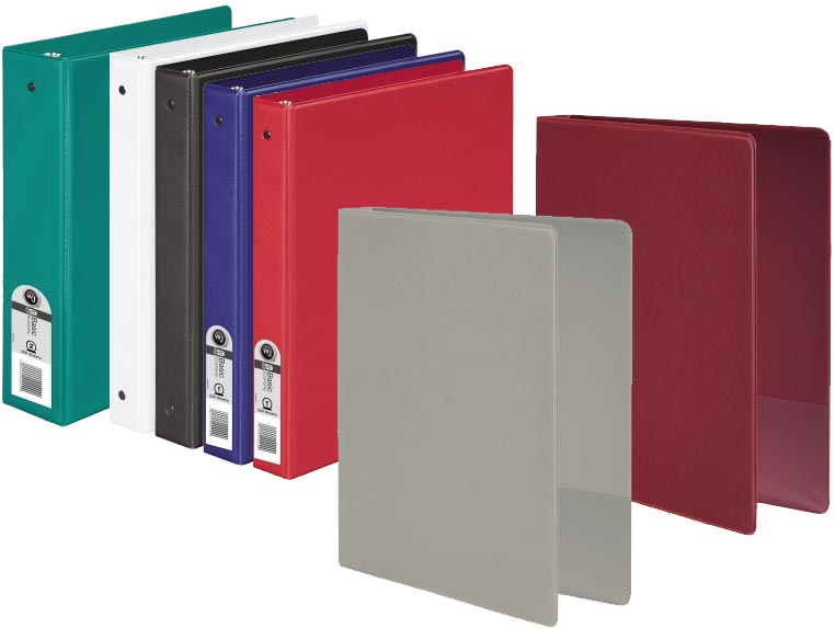 Amazon.com : Wilson Jones 368 Basic Round Ring Binder, 2 Inch ...