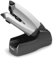 Swingline Cordless Rechargeable Electric Stapler, 20 Sheets, Silver
