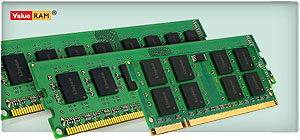 Kingston ValueRAM Desktop/Notebook Memory