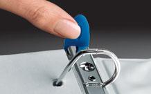 Wilson Jones 879 Premium Single-Touch Locking Round Ring View Binder