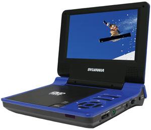 Sylvania SDVD7015 7-inch Portable DVD Player