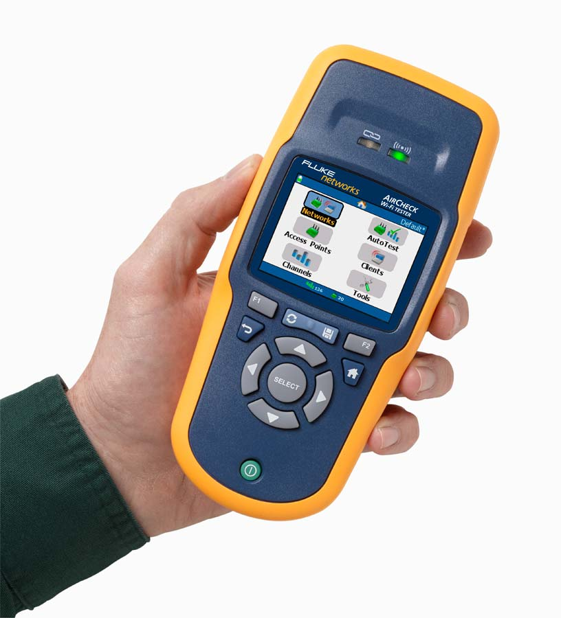 Netscout aircheck wi fi tester lcd display 32 to 113 for Canape network testing tool