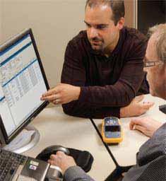 Fluke Networks AirCheck Wi-Fi Tester