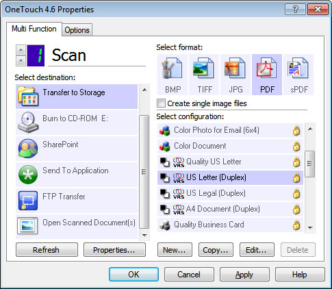 Amazon visioneer rw2 wu roadwarrior 2 business scanner electronics use onetouch to automatically send scans to a predetermined destination reheart Image collections