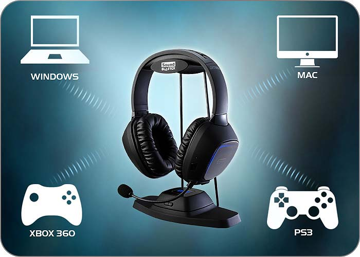 Amazon.com: Creative Sound Blaster Tactic 3D Omega Wireless Gaming ...
