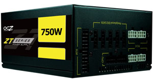 OCZ ZT Series Power Supply