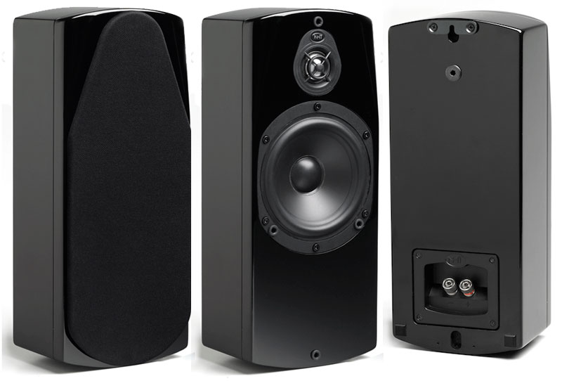 Amazon Com Nht Absolute Wall Speaker Black Single