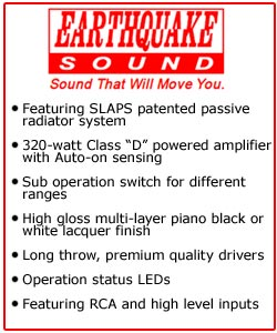 Earthquake Sound MiniMe P8 Subwoofers