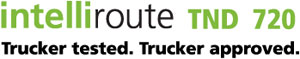 IntelliRoute TND 720. Trucker tested, trucker approved.