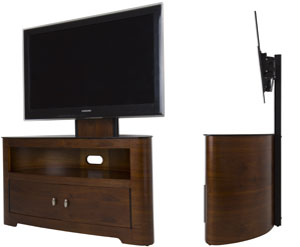 Amazon Com Avf Fsl1000bleo A Blenheim Tv Stand With Dual Cabinet