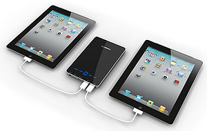 Amazon.com: Powermotion 12000 External Portable Battery Pack and Charger for iPhone, ipad, ipod