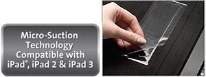 Kensington Micro-Suction Technology Compatible with iPad, iPad 2, and iPad 3