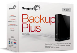 Seagate Backup Plus Desktop Drive