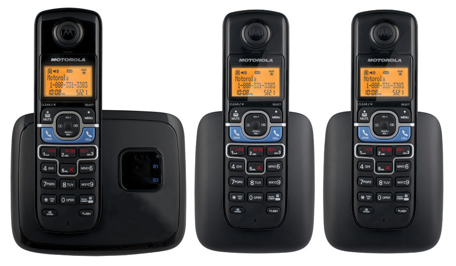 Amazon Com Motorola Dect 6 0 Cordless Phone With 3