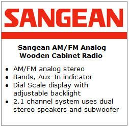 Sangean WR-12