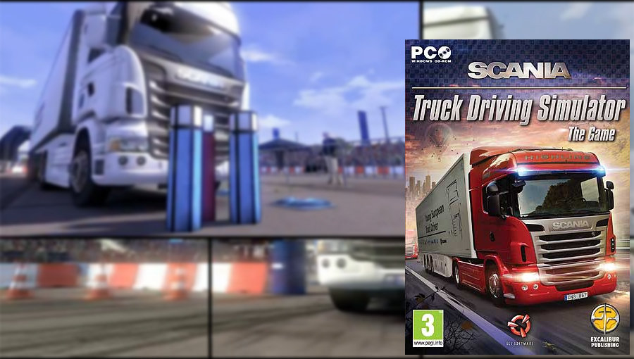 series of challenges with SCANIA Truck Driving Simulator. View larger