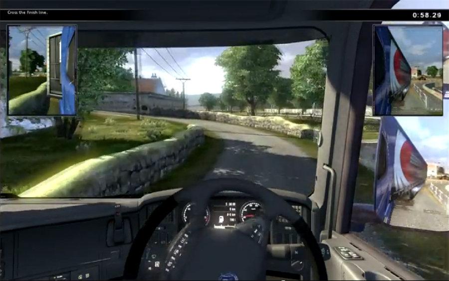 Amazon.com: Scania Truck Driving Simulator - PC: Video Games
