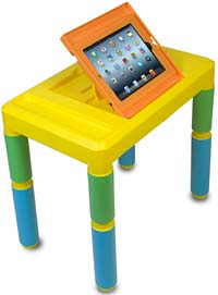 CTA Digital PAD-KAT Kids Adjustable Activity Table for iPad