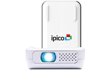 General imaging pj205 ipico handheld led for Apple iphone projector