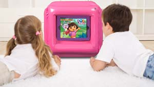 CTA Digital Dora the Explorer Inflatable Play Cube for iPad