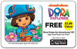 Dora Dress-Up Adventures included