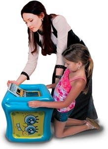 CTA Digital SpongeBob SquarePants Inflatable Play Cube for iPad