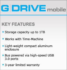 G-Drive Slim 3.0 in a Nutshell