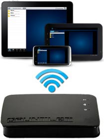Patiot Memory Gauntlet 320 Portable Wireless External Drive
