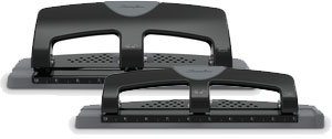 Swingline SmartTouch 3-Hole Punch, Reduced Effort, 12 or 20 Sheet Punch Capacity