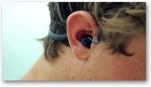 X-1 Surge Sportwrap Waterproof Headphones