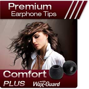 Comply Premiusm Earphone Tips Comfort Plus Tsx-Series