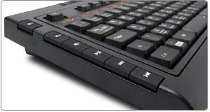 The SteelSeries Shift Keyboard