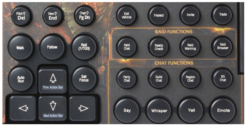 Amazon.com: SteelSeries Shift Gaming Keyboard-World of