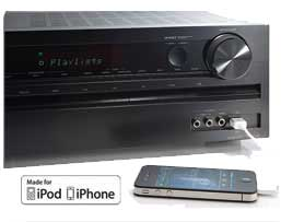 how to connect iphone to onkyo receiver