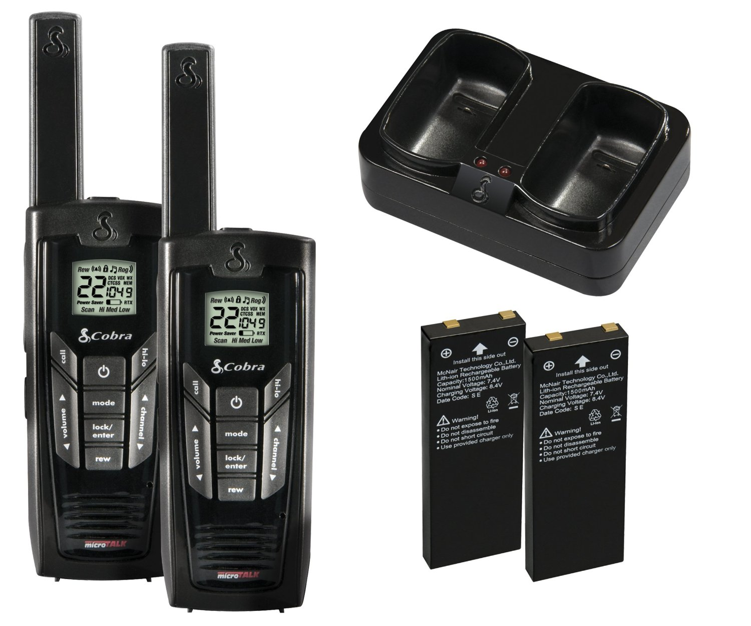 Mile High Water Talk: Amazon.com: Cobra Walkie-Talkie MicroTalk CXR925 35-Mile