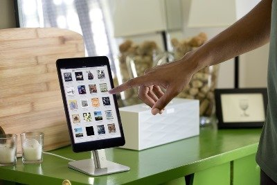 Ipad Holder For Kitchen | Amazon Com Twelve South Hirise For Iphone Ipad Silver