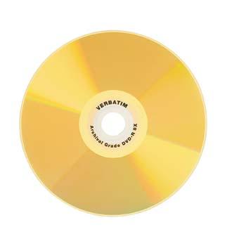 Verbatim Ultralife Gold Archival Grade DVD-R