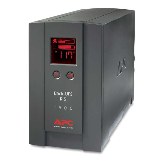 Amazon.com: APC BACK-UPS RS BR1500LCD 1500VA/865W UPS