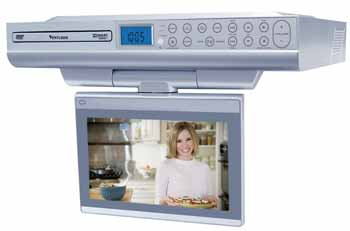 kitchen cabinet dvd venturer klv39082 8 inch undercabinet kitchen 18720
