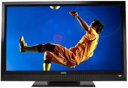 Front view  of the VIZIO E320VL 32-inch LCD HDTV