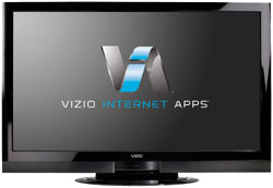 Front view of the VIZIO XVT323SV 32-inch full 1080p RazorLED LCD HDTV